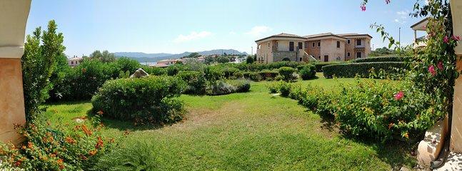 View of the garden from the veranda