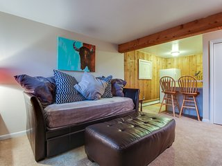 Cozy mountain condo in West Vail - perfect for couples or small families!