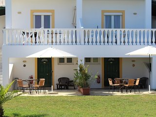 Apartment Kumkat in front of the beach in the north of Corfu island