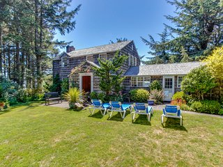 Historic, waterfront, dog-friendly home w/ close beach access & private hot tub