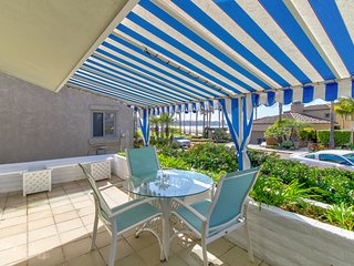Updated La Jolla Shores home w/ ocean view, fireplace, patio, & gas grill!