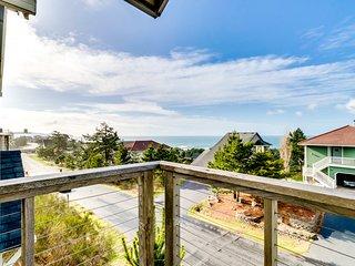 Classic coastal home w/ocean view in quiet neighborhood!