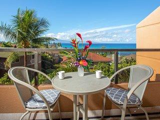 Spacious Ocean View condo with shared hot tub, pool, & nearby Kahana Beach!