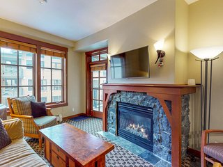 Ski-in/out Village condo w/balcony! Hot tubs, saunas & gym! Great for couples!