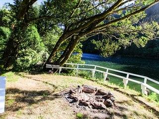 Dog-friendly riverfront home w/ nearby dock, firepit, peaceful location, & more