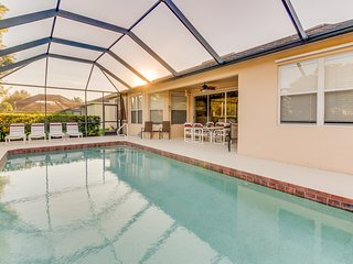 Contemporary family-friendly home, with private pool & prime location!