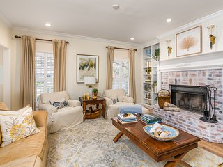 Classic Southern home with double front porches, close to golf and the beach