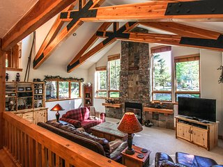 Spacious  home w/ deck, views, & private hot tub - close to world class skiing!
