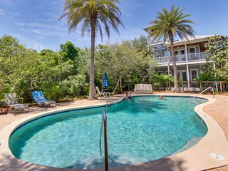 Seaside family home w/ ocean views, shared pool, & plenty of room!