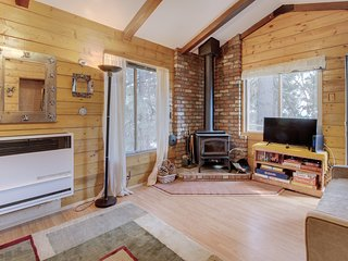 Cozy, rustic cabin w/ wood stoves & free WiFi - perfect peaceful retreat!