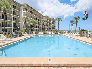 Oceanfront condo w/ easy beach access, sundeck & pool with a view!