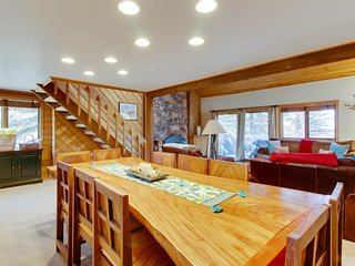 Mountain views in the heart of  Elkhorn w/ shared pool, hot tub, and sauna