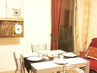 Spacious apartment in the center of Ragusa with Parking, Internet, Washing machi