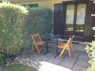 Studio cosy et confortable, avec terrasse et cuisine privée