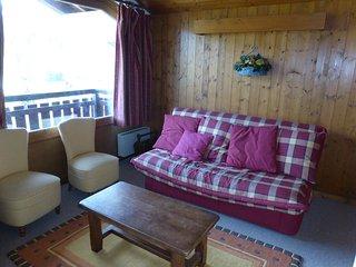 Appartement spacieux et cosy, à 900m des pistes de ski !