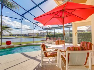 Lovely Lake Villa 20 Min To Disney Large Pool!