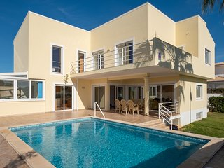 Villa with free Wi-Fi | A/C | private heated pool | garden | near beach | sea vi