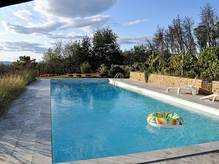 Villa Grazia Tuscany , - Tuscany, Family Villa with Private Pool , for 8 plus gu