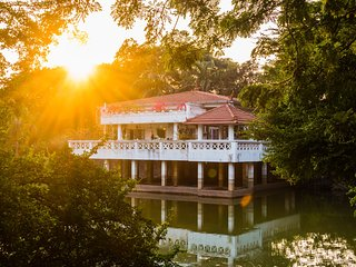 3BHK Villa Built on a Pond