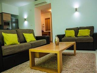 Modern apartment in peaceful resort