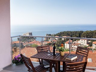 Villa Ankora - Comfort One Bedroom Apartment with Balcony and Sea View (2nd