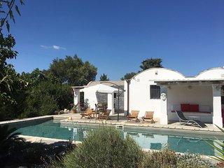 Trullo e villa L'ANNAMARCO with large private swimming pool