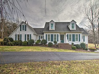 NEW! Spacious Staunton Home - 8 Miles to Downtown!
