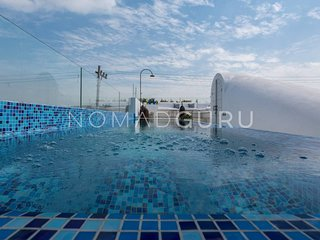 LUXE Boutique Villa Lucia w/ Rooftop Glass Pool by NOMAD GURU