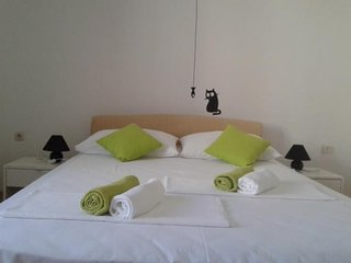 Spacious apartment in Rtina with Parking, Internet, Air conditioning, Balcony