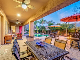 Villa Cabrera a Luxury Chandler Home with Resort Style Backyard in a Private Gat