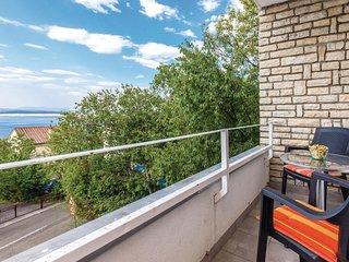 1 bedroom Apartment in Dramalj, Primorsko-Goranska Županija, Croatia : ref 55362