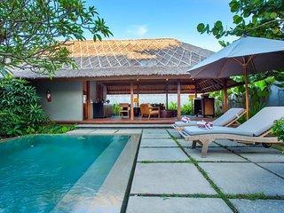 2BDR Seminyak Villa with Open-Concept Living Room