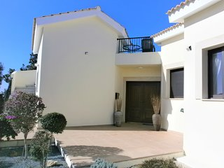 Entrance doorway to Villa Tyche - your holiday home
