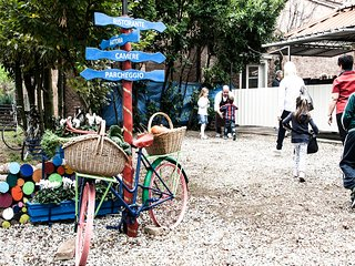 Un agriturismo nell'entroterra veneziano, a due passi da Venezia e Padova