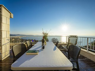Apartments Matusko - Two Bedroom Apartment with Terrace and Sea View-8