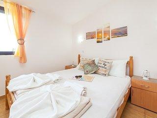 Apartments Viktorija - Studio with Balcony and Sea View (3 Adults)