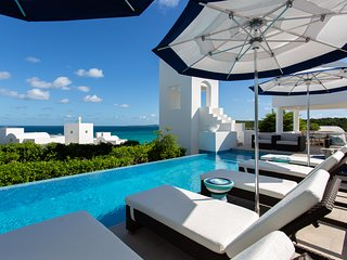 Sky Villa Anguilla:Sophisticated Comfort on the Beach. Privacy, Services, Staff