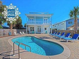 Winter upto 20% OFF! GULF VIEW Luxury Home, Pool, Near Beach + FREE VIP Perks