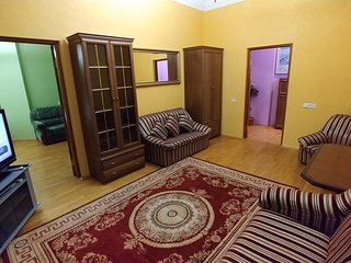 Cozy apartment in the center of Kiev with Lift, Internet, Washing machine, Air c