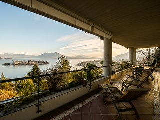 Sana luxury apartment in Stresa with amazing lake view