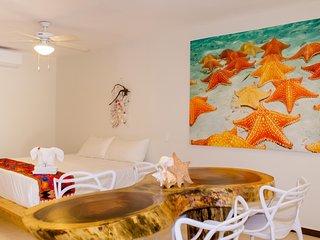 Casa Azul Maya - Single King Suites - Room 2