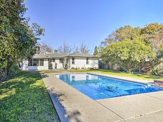 Central Sacramento Home w/Pool - Mins to Downtown!