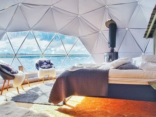 Blue Bayou Resort 2 queen size suite Geodesic Dome Just off the Cabot Trail. Q14