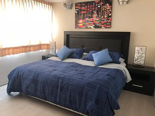 Spacious 2BR apartment; up to 4 guests; near the WTC & Condesa