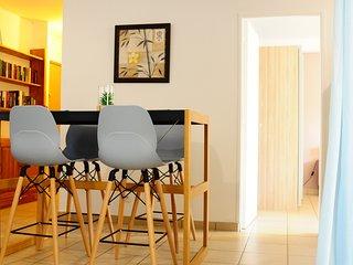 Bel appartement cosy avec spa à 5 min à pied de la plage de st Pierre