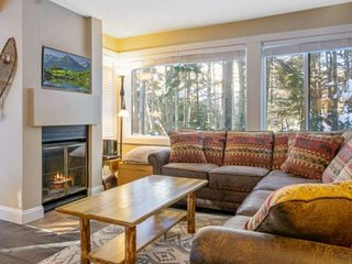 New to Market! Waterville Valley Cozy Corner Unit located across from White Moun