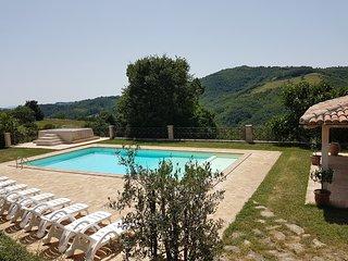 Villa Cardellini is a eighteenth-century farmhouse