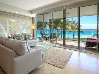 Beachfront Condo with Pool - Ocean One 204