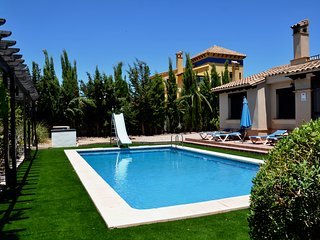 Private detached villa with own private pool