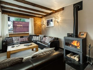 Chalet Aigle Royal - Homely 6 bedroom chalet with amazing views